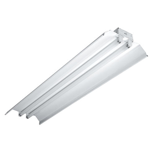 Metalux Icf 48 X 12 White T8 Fluorescent Shop Light At Menards