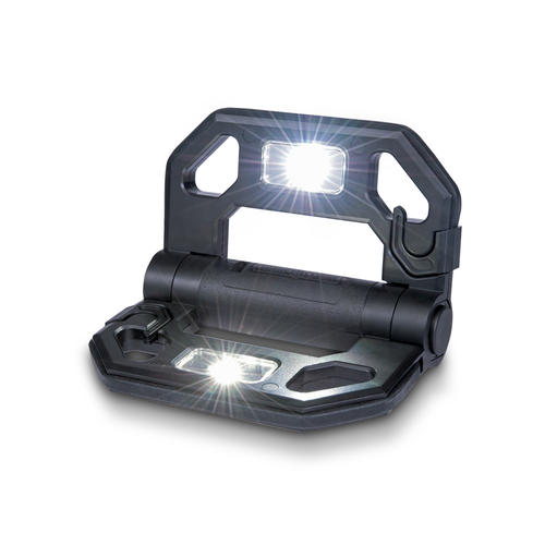 Cooper Lighting 12 Black Led Mini Might D Light Work