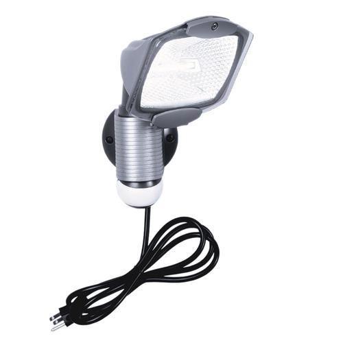 """Cooper Lighting 7"""" Gray 110° Plug-in Motion Sensor"""