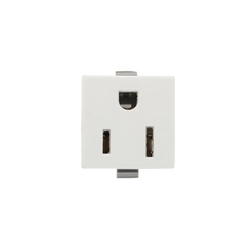 eaton 15-amp snap-in white single outlet