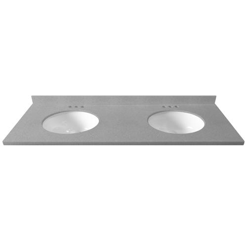 73 W X 19 D Solid Surface Vanity Top