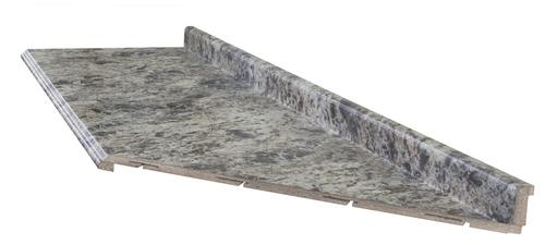 Customcraft Countertops High Resolution Mitered End Laminate Countertop At Menards
