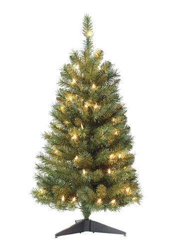 - 3' Prelit Noble Fir Artificial Tree At Menards®