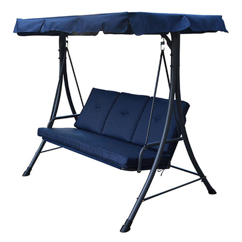 Backyard Creations® 3-Person Patio Swing in Blue  sc 1 st  Menards & Backyard Creations® 3-Person Patio Swing at Menards®