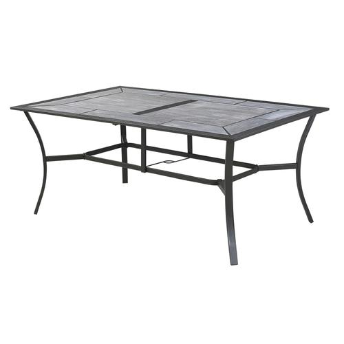 Gentil Backyard Creations® Southfield Rectangular Dining Patio Table