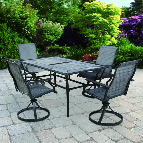 Backyard Creations® Southfield 5 Piece Dining Patio Set At Menards®