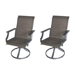 Backyard Creations® Southfield Swivel Rocker Dining Patio ...