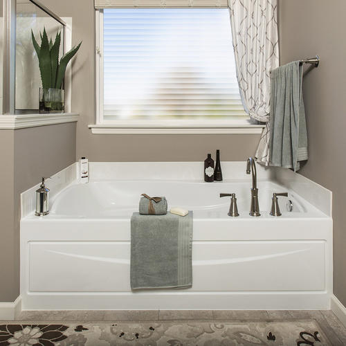 privacy for bathroom window over tub decorative window.htm gila   3 w x 6 1 2 l faux shades window film at menards    faux shades window film at menards