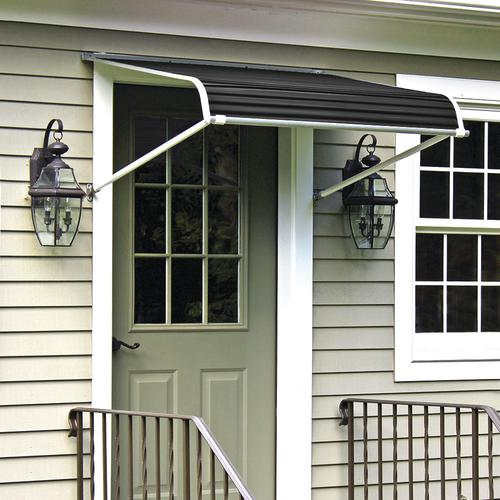Nuimage 1100 Series Aluminum Door Canopy With Support Arms At Menards