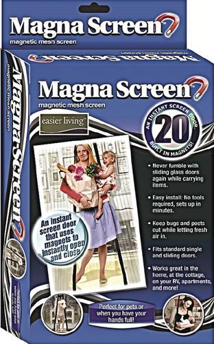 & Magna Screen Exterior Door Screen System at Menards®