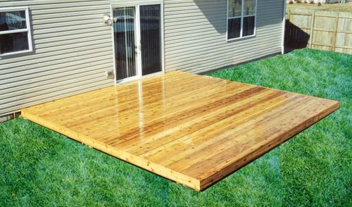 16u0027 X 16u0027 Patio Style Deck   Building Plans Only At Menards®