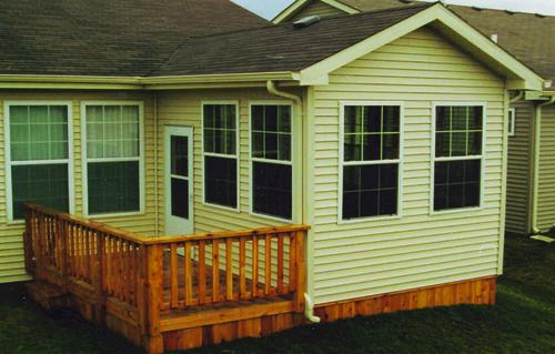 Gabled Season Room Building Plans Only At Menards - 3 season porch plans