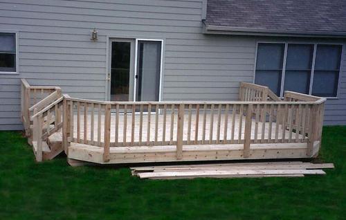 Build A Deck Plan Building Plans Only
