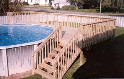 16' x 24' Pool Deck - Building Plans Only