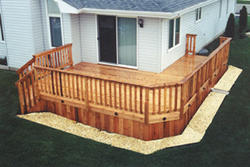 12' x 20' Main Deck with Side Deck - Building Plans Only