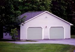 2-Car Gable Garage - Building Plans Only