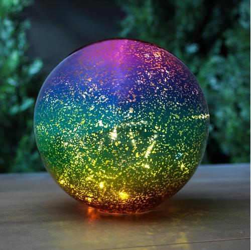 Enchanted Garden 10 Gl Gazing Ball With Led Lights