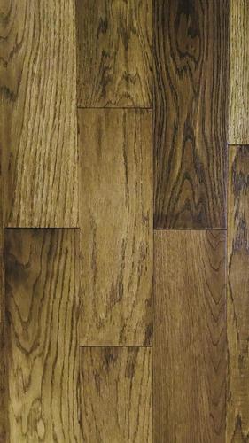 Directloc 38 X 5 Handscraped Caramel Oak Engineered Hardwood