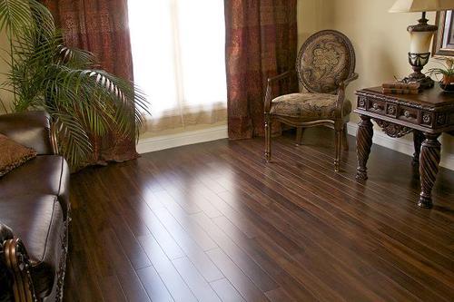 Tigerwood Bamboo Solid Hardwood Flooring 5/8