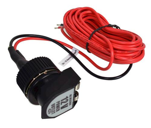 Fabulous Custom Accessories Exterior 12 Volt Power Socket With 12 Cord At Wiring Cloud Mangdienstapotheekhoekschewaardnl