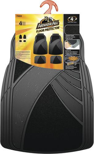 Armor All 174 4 Piece Rubber Carpet Car Mats At Menards 174