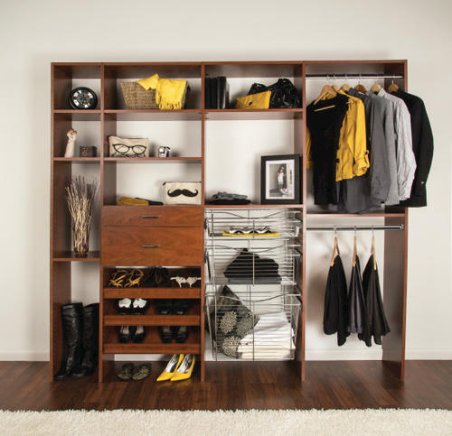 Merveilleux DAKOTA CLOSETS™ Cinnamon Cherry Closet Organizer At Menards®