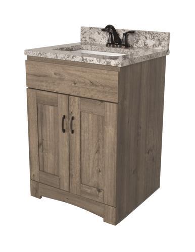 "Dakota™ 24""W x 21""D Monroe Bathroom Vanity Cabinet at Menards®"