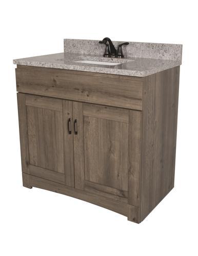 Dakota 36 W X 21 5 8 D Monroe Bathroom Vanity Cabinet At Menards