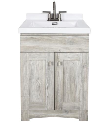 Dakota 24 W X 21 5 8 D Monroe Bathroom Vanity Cabinet At Menards