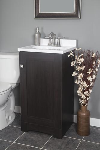 Superb Dakota 18W X 16D Monroe Bathroom Vanity Cabinet At Menards Interior Design Ideas Tzicisoteloinfo