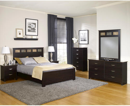 Dakota™ King Espresso Bedroom Suite at Menards®