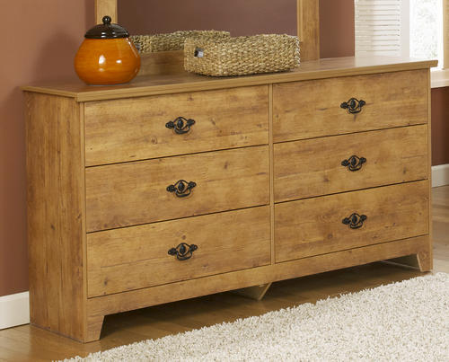 Beau Dakota™ King Knotty Pine Bedroom Suite At Menards®