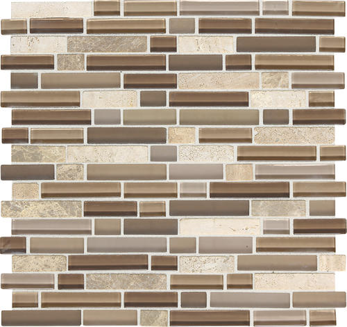 Mohawk® Phase 12 X 12 Glass And Stone Mosaic Tile At Menards®