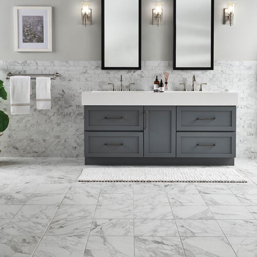 Mohawk Cleanprotect 12 X 12 Porcelain Floor And Wall Tile At Menards