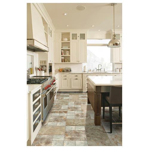 Mohawk Krystal Slate X Porcelain Floor And Wall Tile At Menards - 18 inch slate tile
