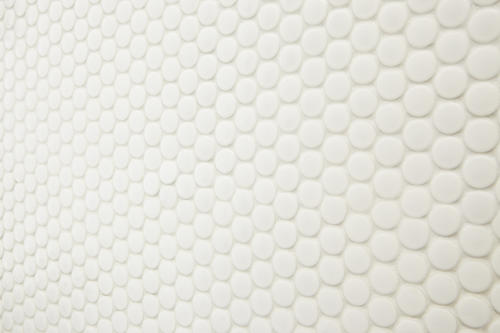 Mohawk® Vivant Gloss White 12 x 13 Porcelain Mosaic Tile at Menards®