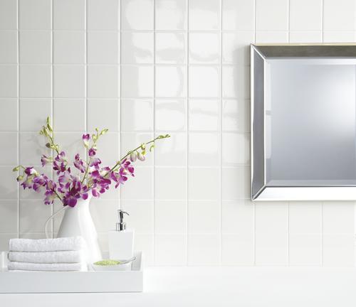 4x4 Ceramic Tile >> Mohawk Vivant 4 1 4 X 4 1 4 Ceramic Wall Tile At Menards