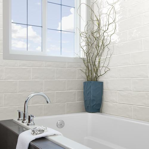 Mohawk Vivant Undulated 4 1 X 12 3 Ceramic Wall Tile At