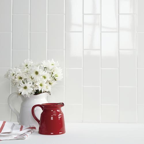 Mohawk Vivant 4 X 8 Ceramic Wall Tile At Menards
