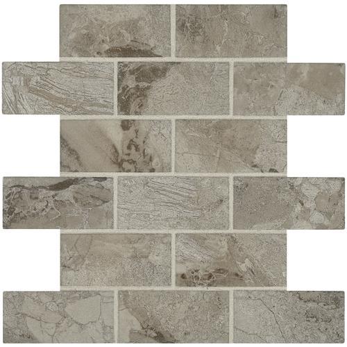 Mohawk® Temple View Brick Joint 12 X 12 Ceramic Mosaic
