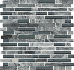 Mohawk 174 Phase 12 X 12 Glass And Stone Mosaic Tile At Menards 174