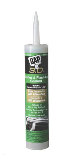 DAP® 3 0™ Gutter & Flashing Sealant - 9 oz at Menards®