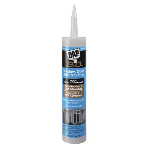 DAP® 3 0™ Window, Door, Trim & Siding Sealant - 9 oz at Menards®