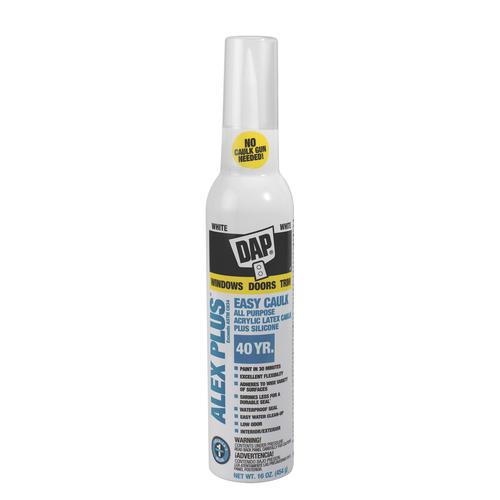 DAP® Alex Plus® White Easy Caulk Aerosol - 16 oz at Menards®