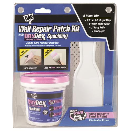 DAP® DryDex® Color Changing Wall Repair Patch Kit - 8 oz.