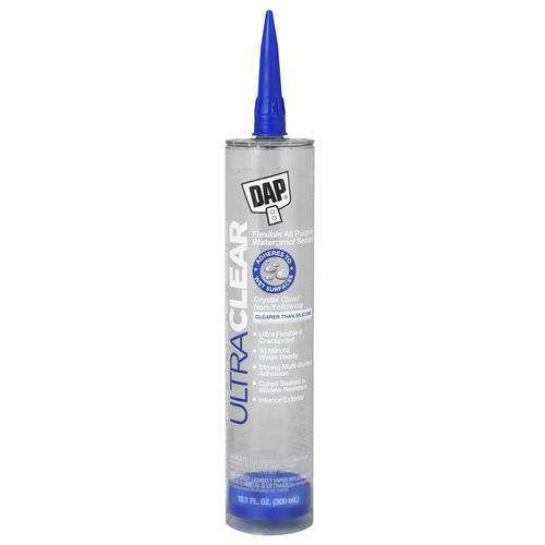 DAP® Clear Elastomeric Flexible Sealant - 10 1 oz at Menards®