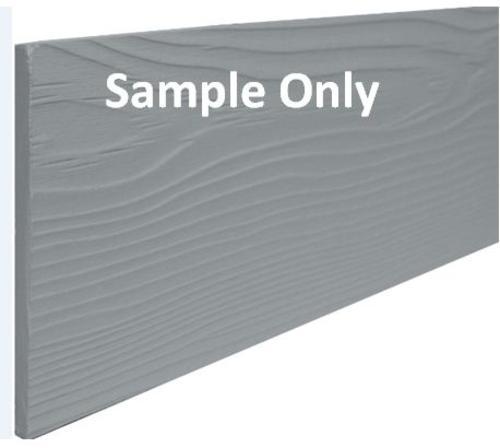 """Allura™ 5/16"""" T x 7-1/4""""W x 10"""" L Prefinished Textured Fiber Cement Lap Siding Sample"""