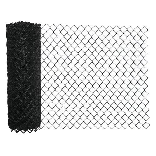50u0027 Black Vinyl Coated 9 Gauge Chain Link Fence Fabric At Menards®