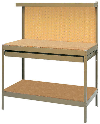 Metal Workbench with Pegboard Backing at Menards®