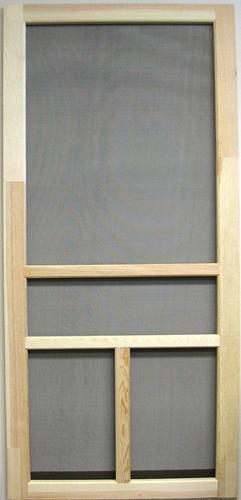 81 H Heavy Duty Wood T Bar Screen Door at Menards